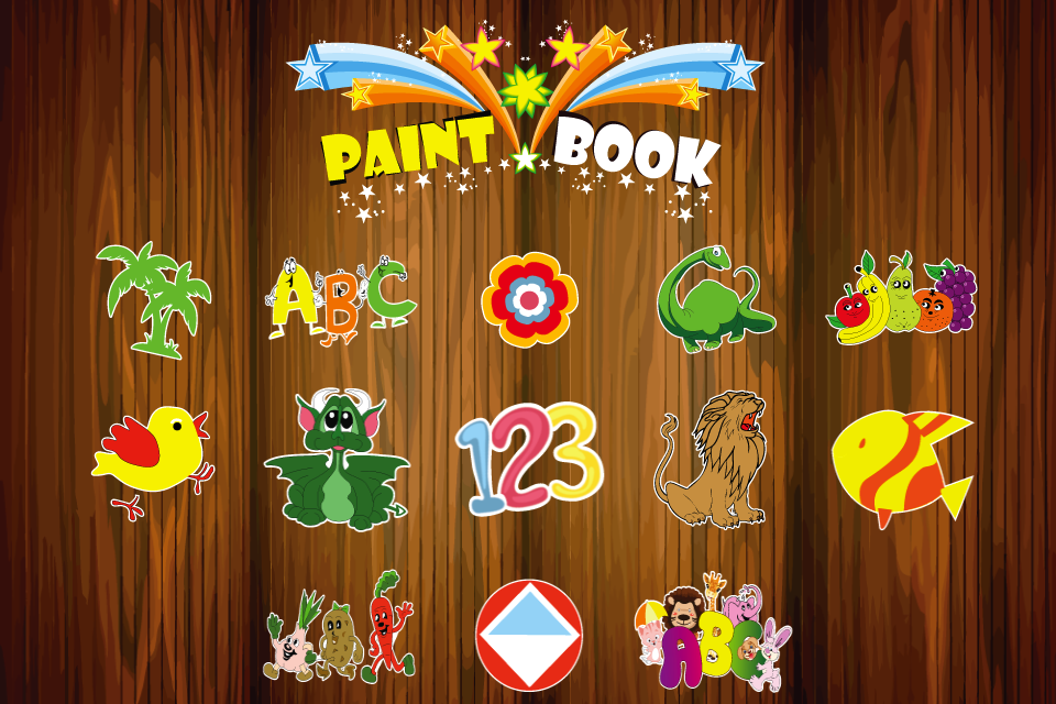 Screenshot My Paint Book HD