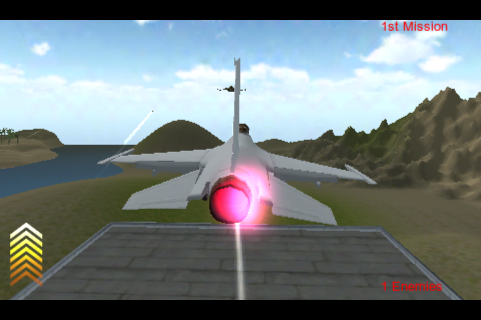 Screenshot flight fight 3D